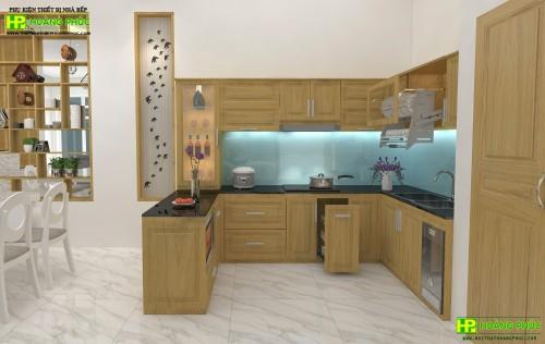Tủ bếp pơ mu BGPM-02